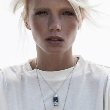 Amethyst Anhänger Silber Halskette Madeleine Issing