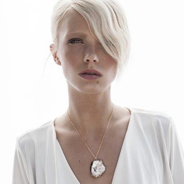 Bergkristall Schmuck Kette Gold Madeleine Issing