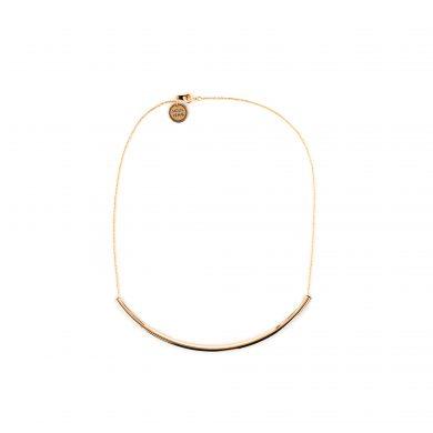 Collier Gold vergoldet Half Circle Halsreif Madeleine Issing