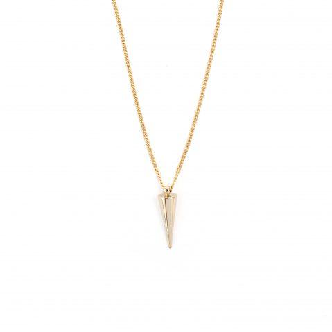 Gold Halskette vergoldete Halskette Cone Madeleine Issing