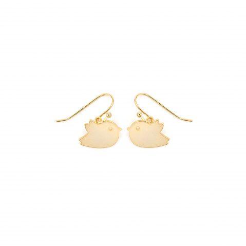 Gold Ohrhänger Ohrringe Schwalbe Madeleine Issing
