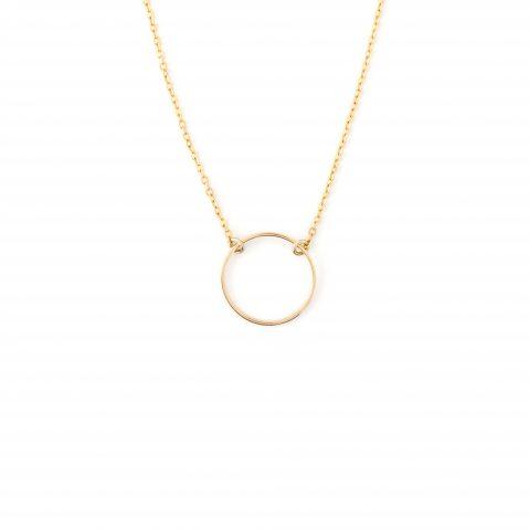 Halskette Gold vergoldet Circle Madeleine Issing