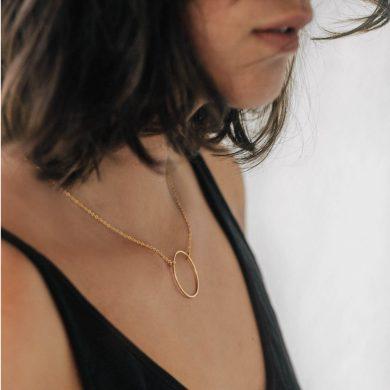Halskette Gold vergoldet Madeleine Issing