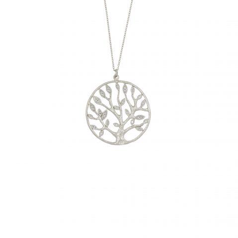 Kette Lebensbaum Silber rhodiniert Madeleine Issing