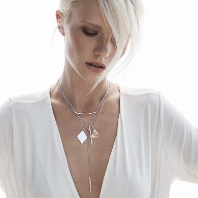Silber Anhänger Halskette Lone Madeleine Issing