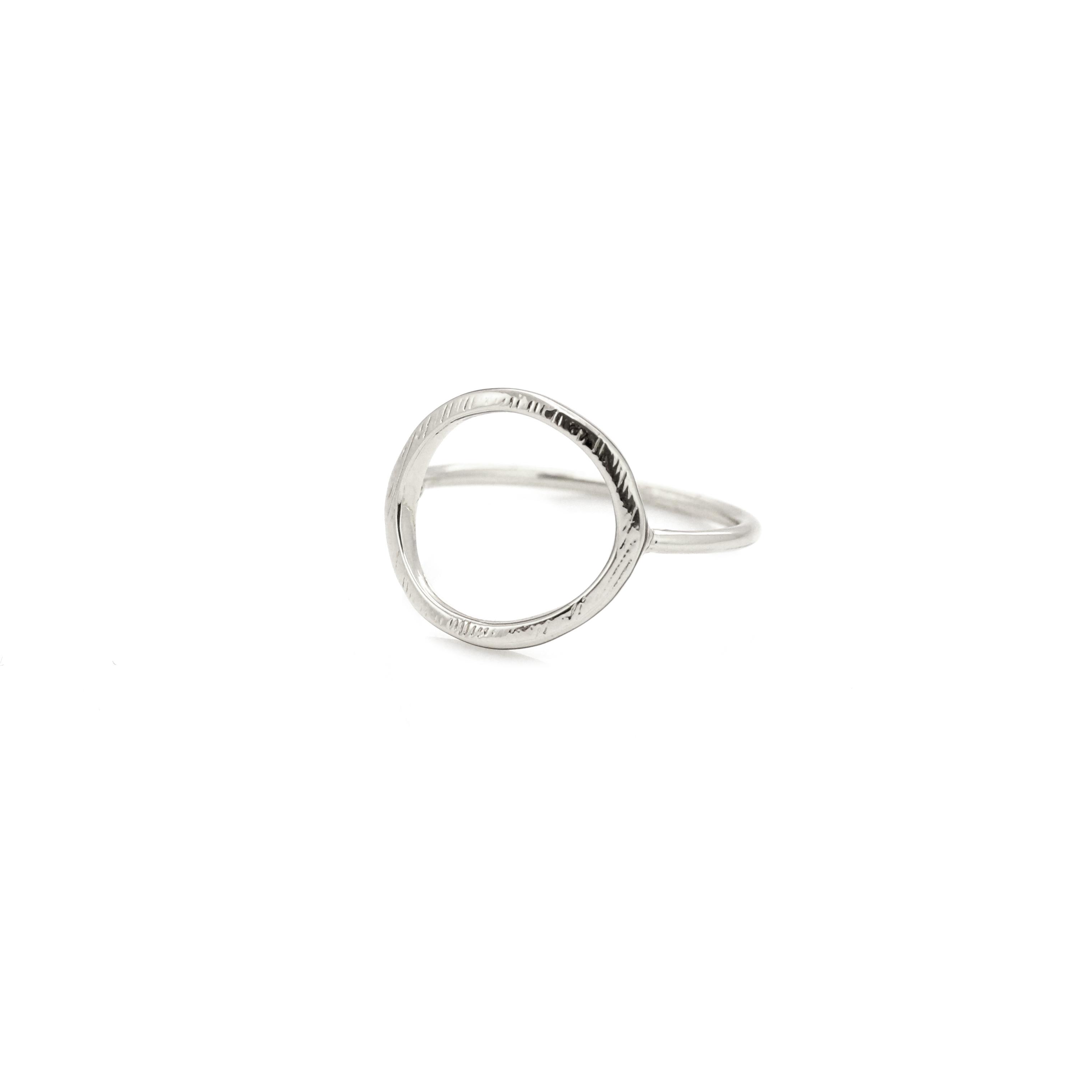 Silber Ring mit Kreis Circle MADELEINE ISSING