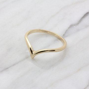 schmaler Goldring minimalistisch Madeleine Issing