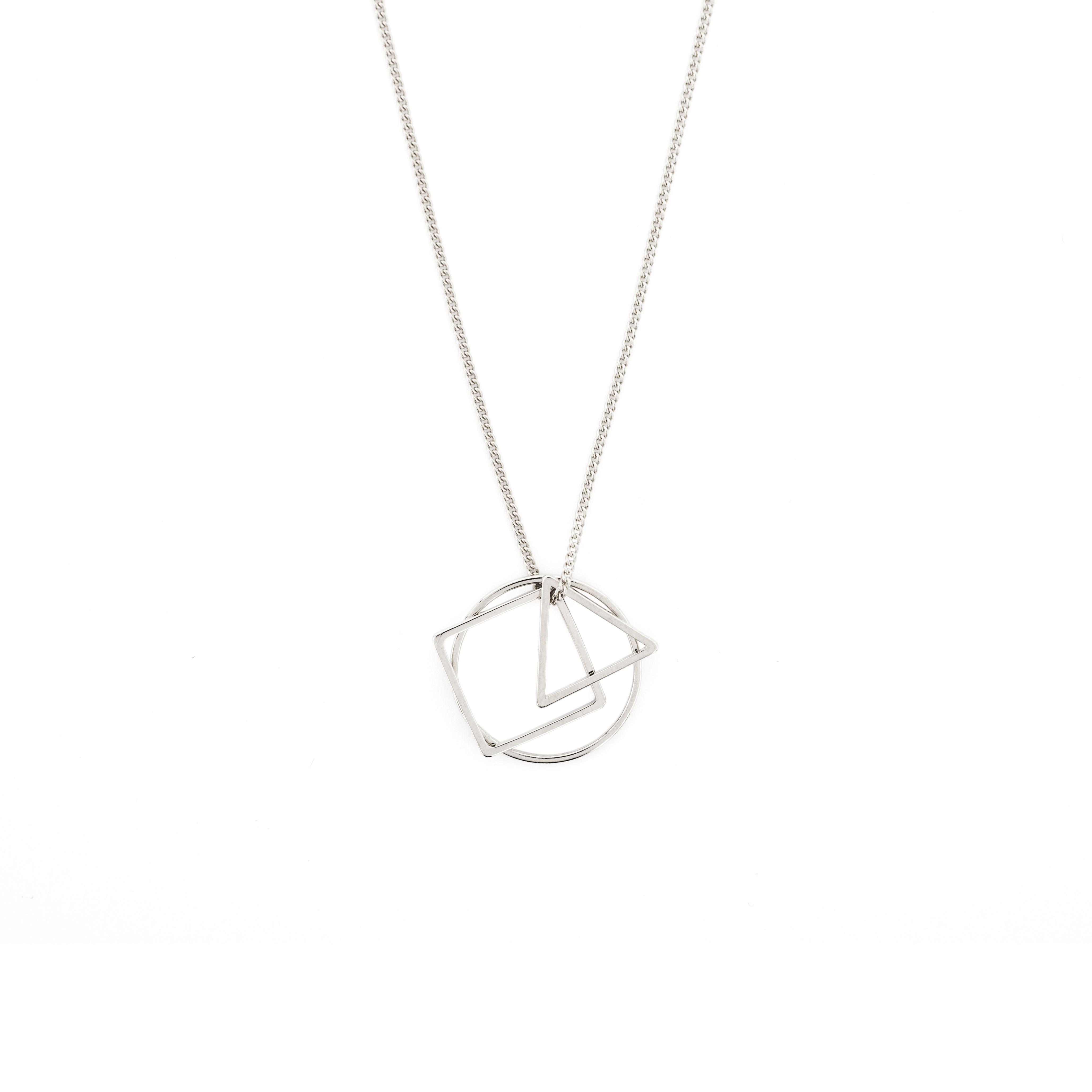 Kette silber  Kette geometrisch Silber -Geo Love- MADELEINE ISSING