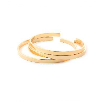 Goldarmband Armreif LAyering Bar vergoldet MAdeleine Issing