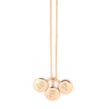 Kettenanhänger mit Gravur rose gold Madeleine Issing