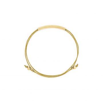 Armband hellbraun gold Madeleine Issing