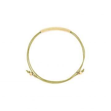 Armband hellgrün gold Madeleine Issing