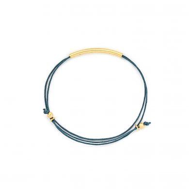 Armband petrol vergoldet Madeleine Issing