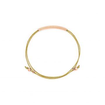 Rosegold Armband hellbraun Madeleine Issing