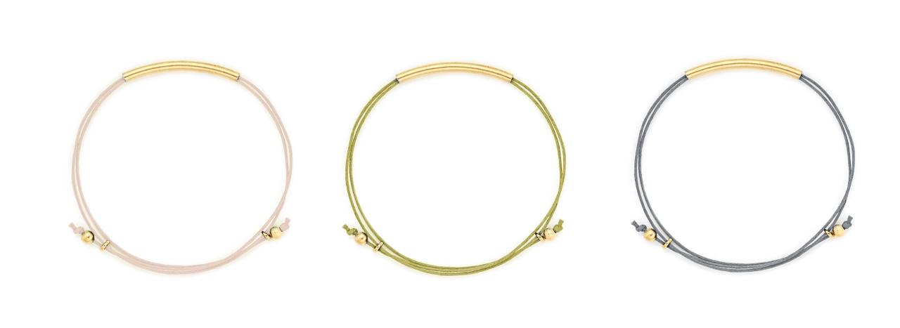 filigrane Armbänder mit verstellbaren Knoten Madeleine Issing 2