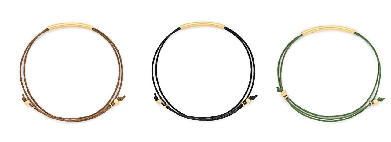 filigrane Armbänder mit verstellbaren Knoten Madeleine Issing 3