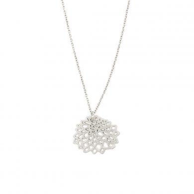 Blumen Kette Silber rhodiniert Madeleine Issing