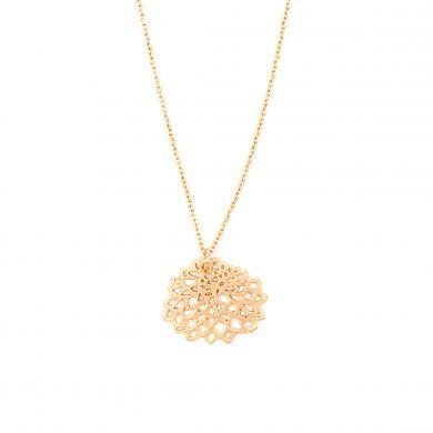 Blumenkette Gold vergoldet Chrysantheme Madeleine Issing