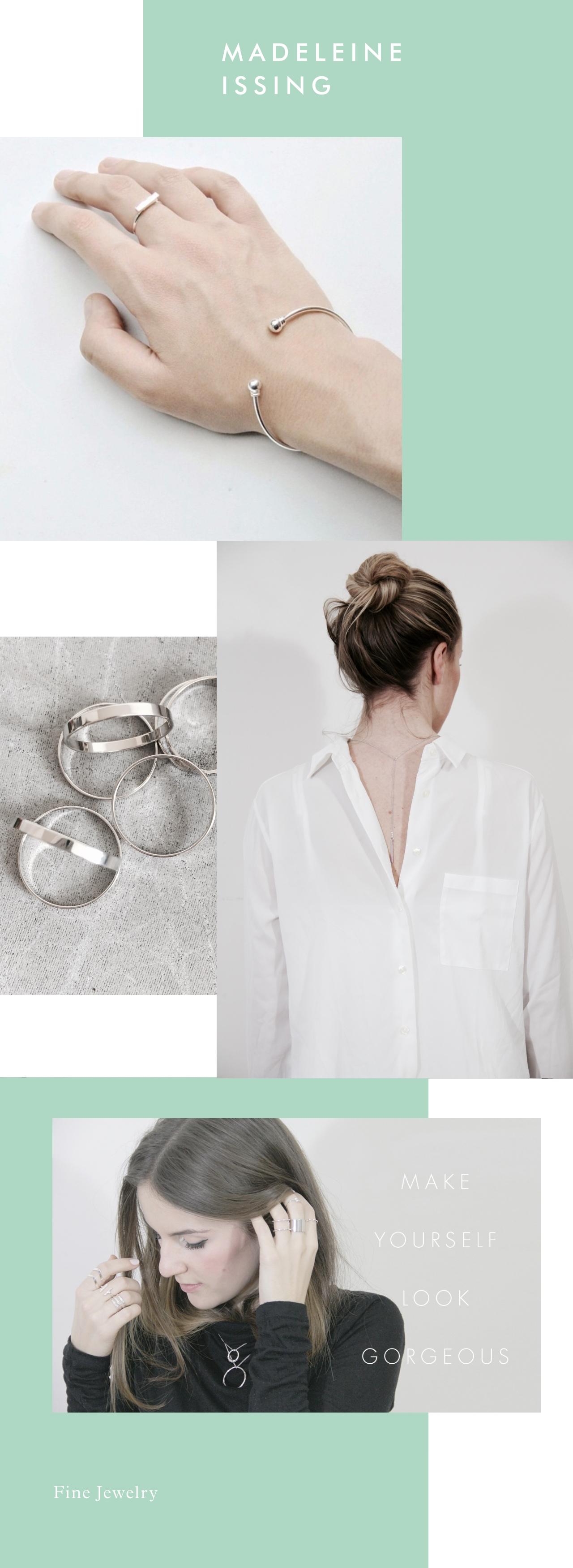 Silberschmuck hochwertiger Modeschmuck Madeleine Issing
