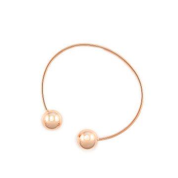 Armband mit Kugeln Rosegold Kugelarmband Madeleine Issing