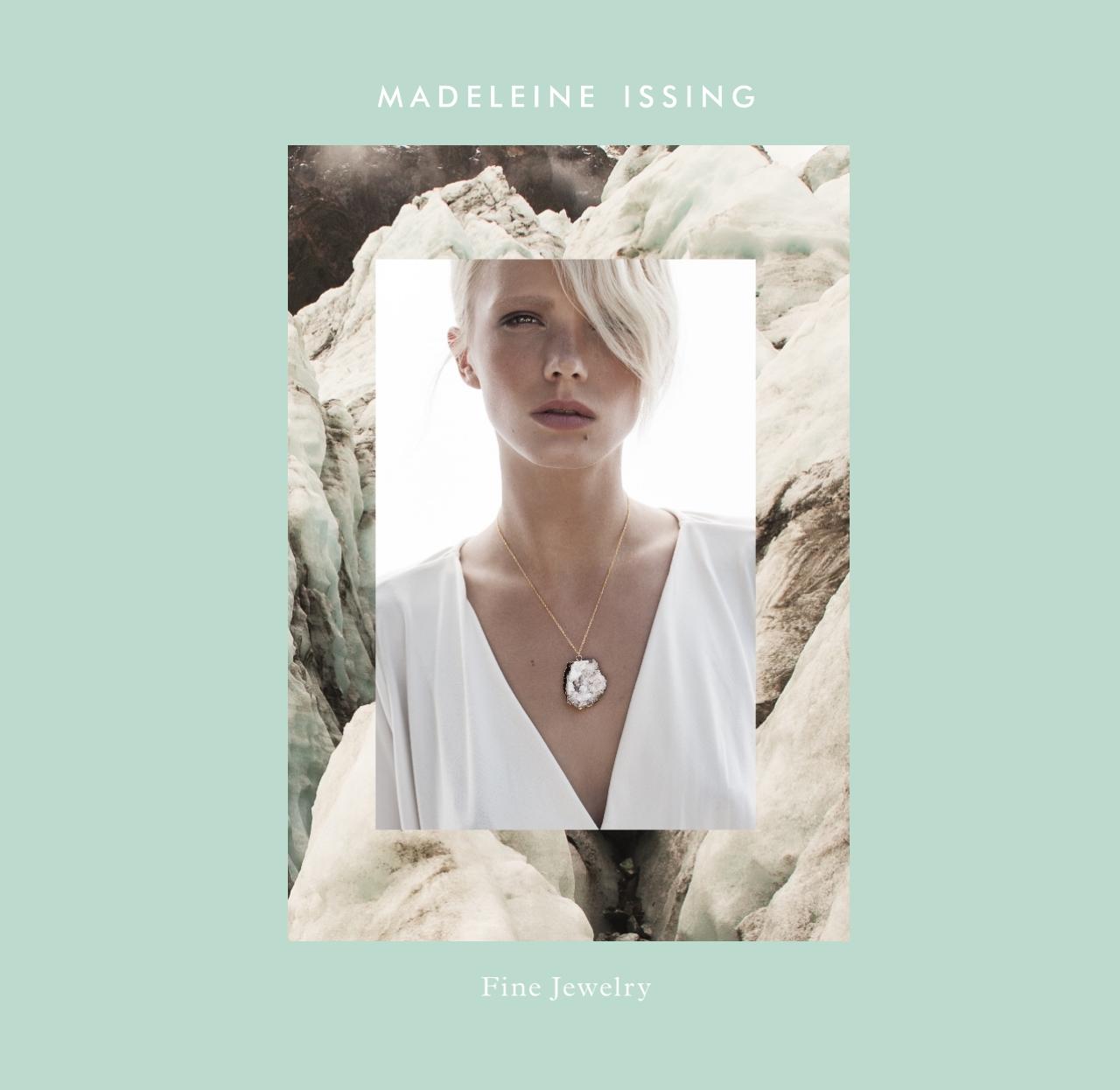 Bergkristall Edelsteinkette Unikat Hamburg Madeleine Issing