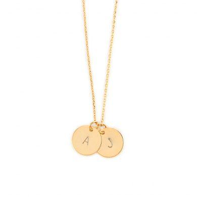 Goldkette mit Gravur nach Wunsch vergoldet Madeleine Issing