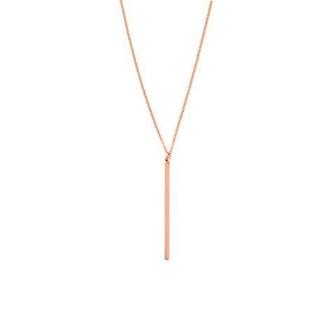 Rosegold Halskette minimalistisch Madeleine Issing