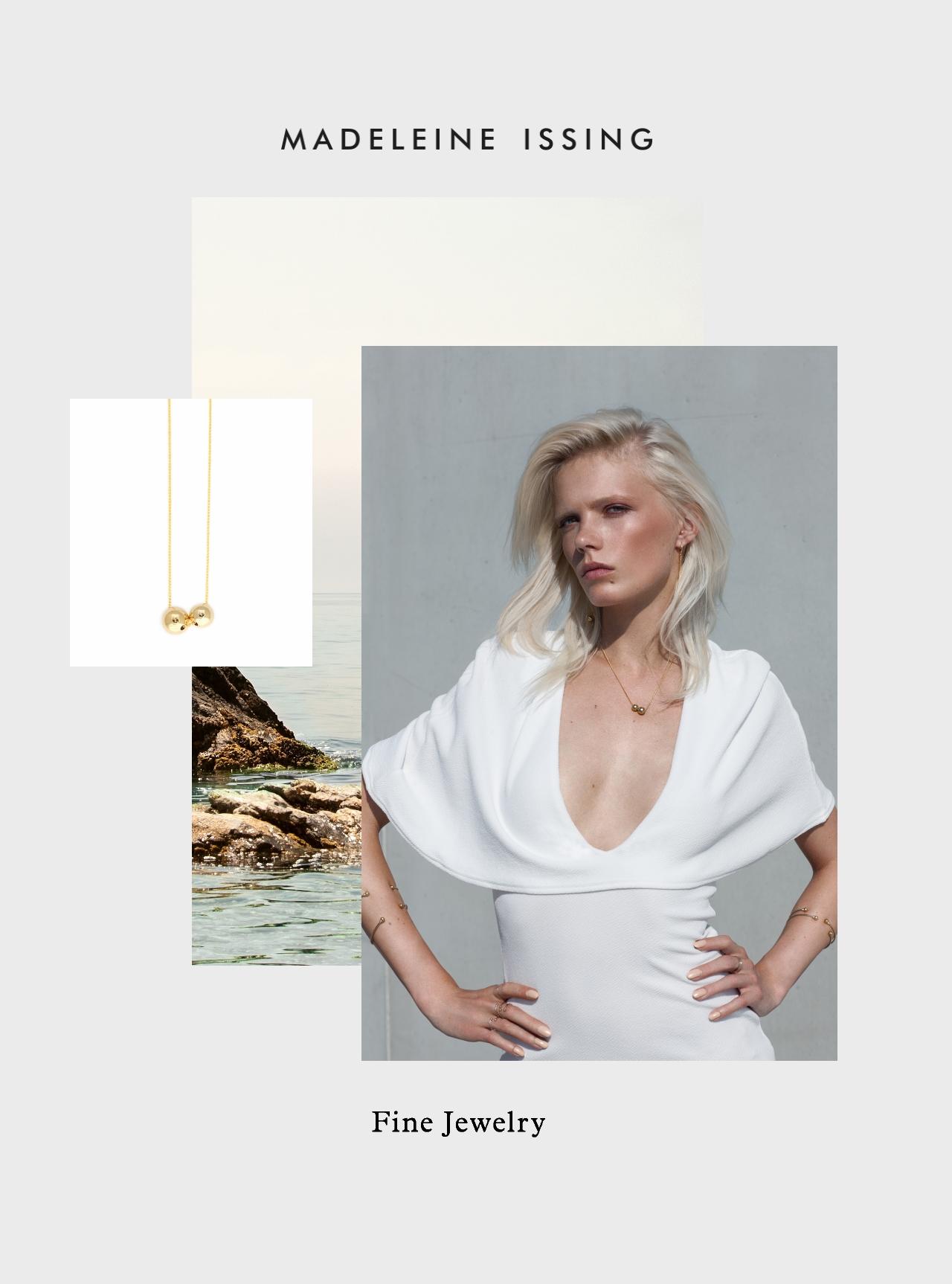 Schmuckkollektion minimalistische Designs Madeleine Issing