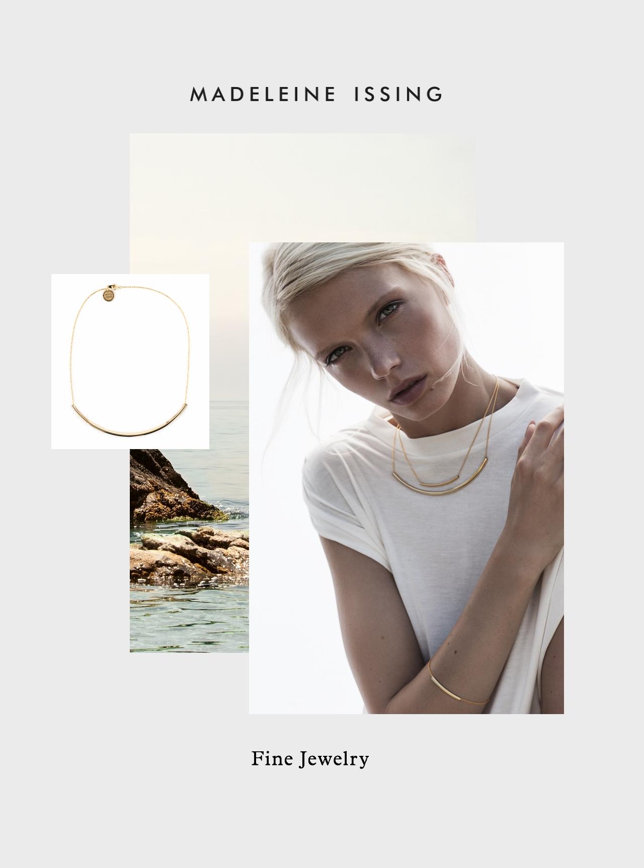 schmuckkollektion minimalistisches design madeleine issing