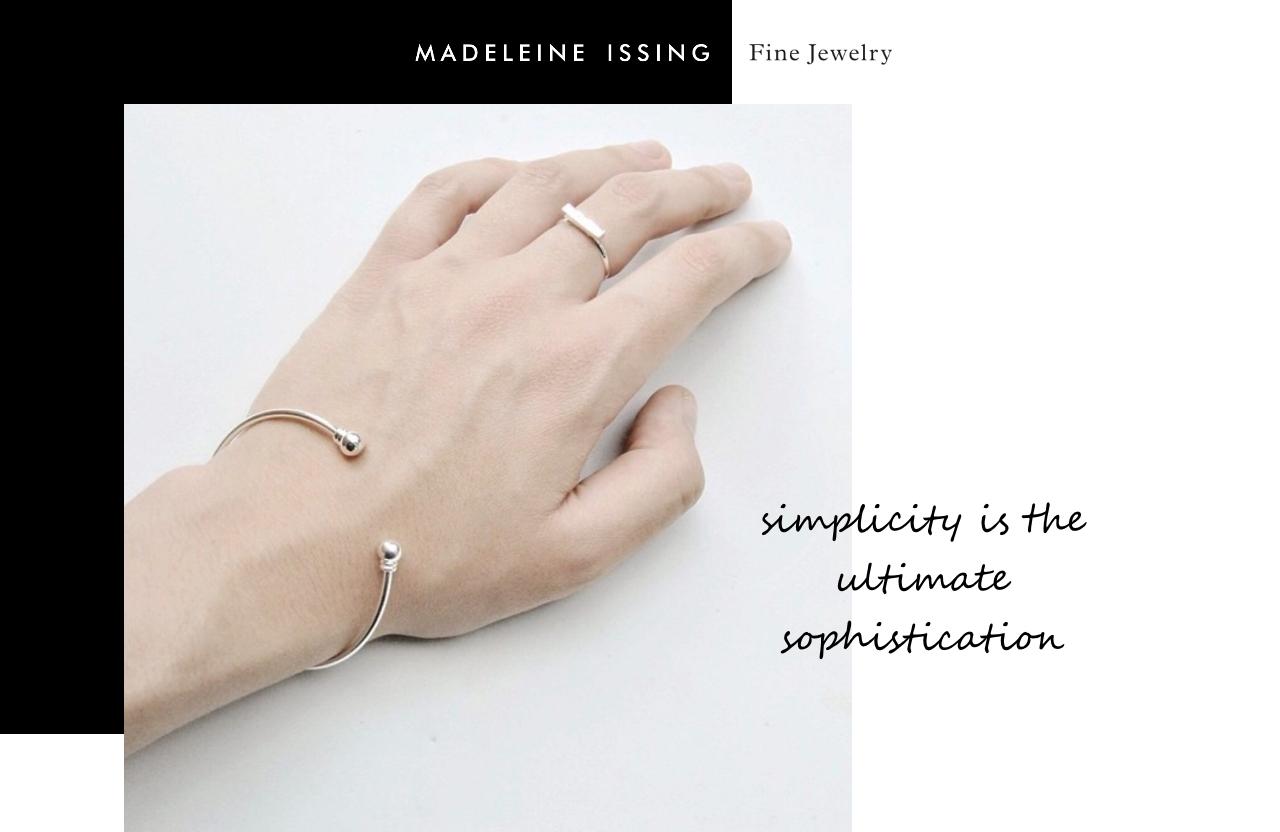 Armschmuck Armreife und Armbänder für Frauen Madeleine Issing