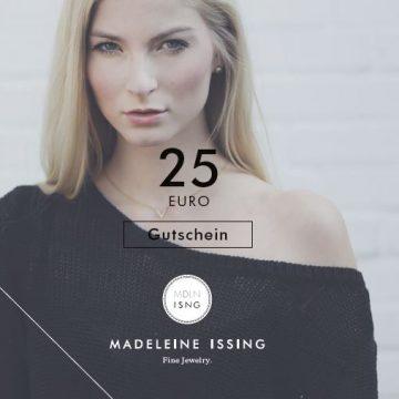 Schmuck Gutschein 25 Euro verschenken Seite 1 Madeleine Issing