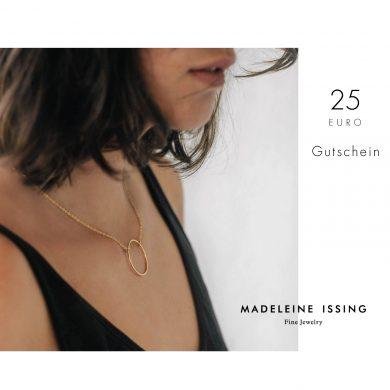 Schmuck Gutschein zum verschenken 25€ Madeleine Issing