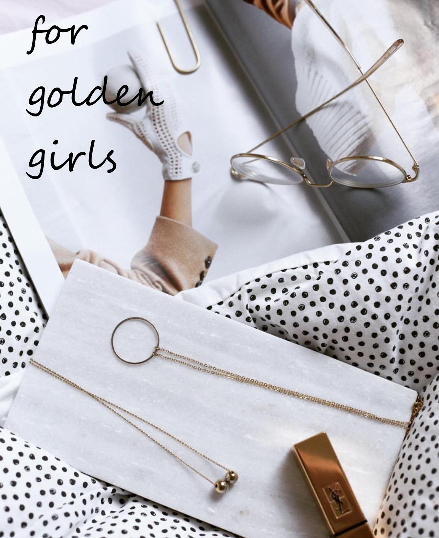 vergoldete Halsketten mit modernen Design Madeleine Issing