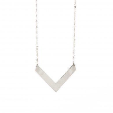 Dreieck Kette in Silber Statement Halskette Madeleine Issing