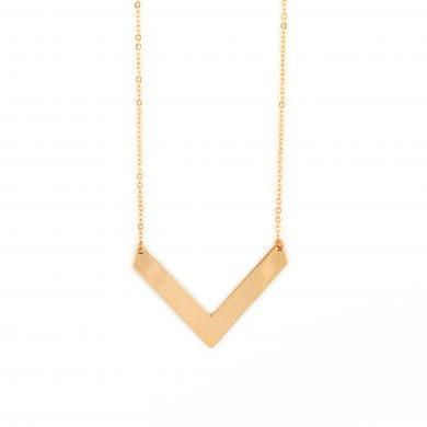 Kette Dreieck Anhänger Gold vergoldet Triangle Madeleine Issing