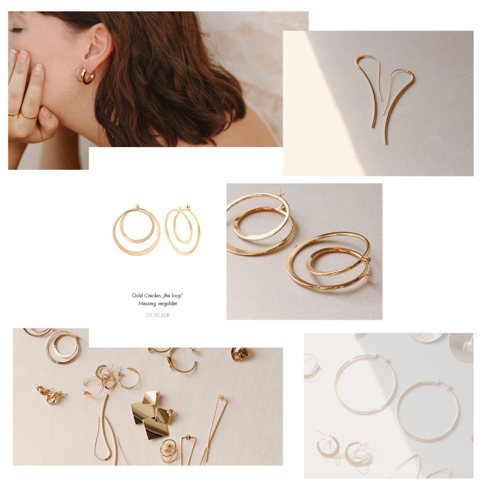 Modeschmuck Ohrringe für Allergiker geeignet Madeleine Issing