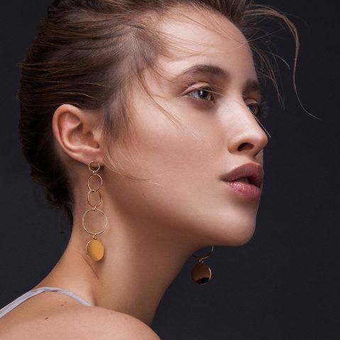 Ohrringe Gold Stecker Madeleine Issing
