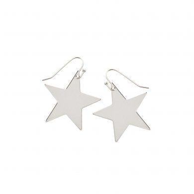 Stern Anhänger Silber Ohrringe groß Madeleine Issing