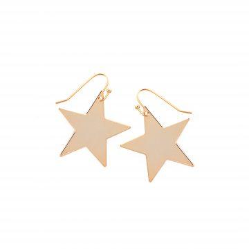 Stern Ohrringe Gold vergoldet Madeleine Issing