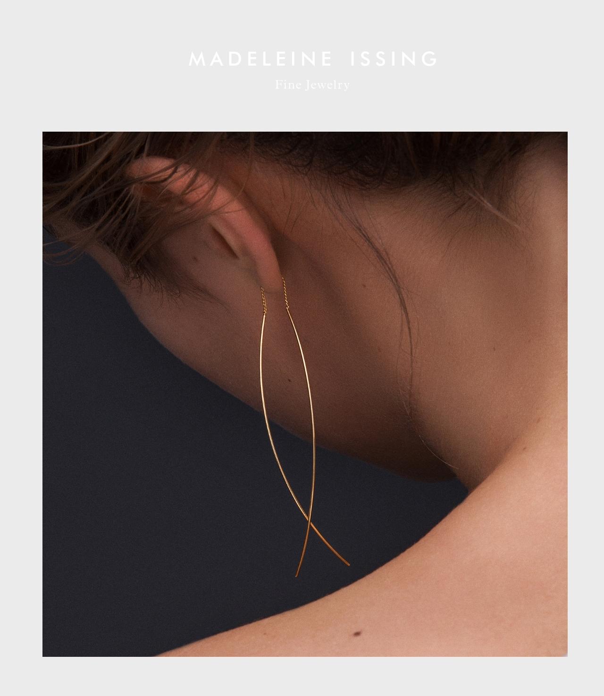 Finden Sie den niedrigsten Preis bester Preis neue bilder von schöne Ohrringe und puristischer Schmuck - MADELEINE ISSING