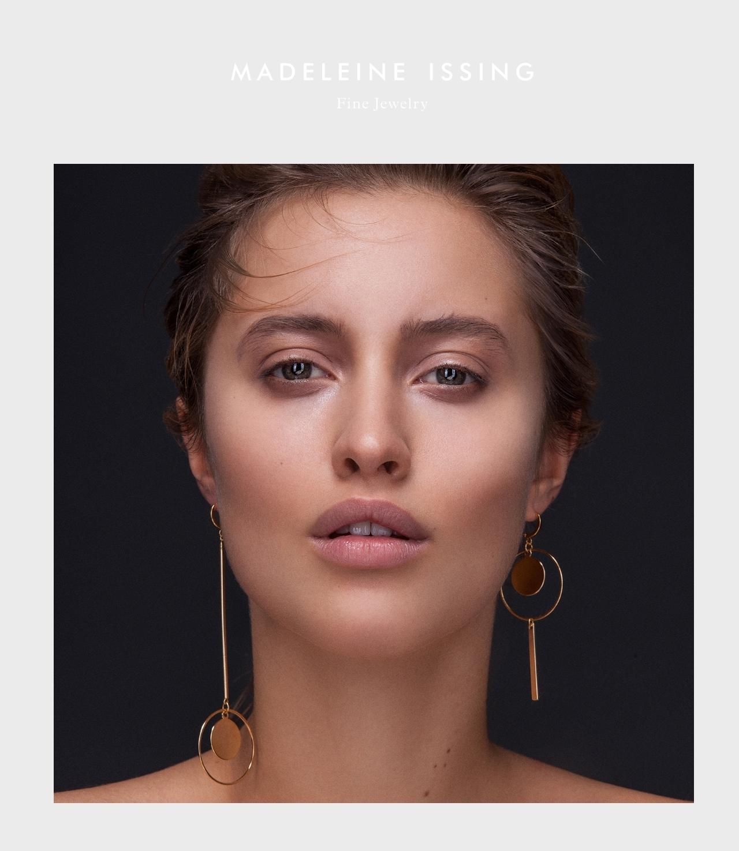 schöne Ohrringe und puristischer Schmuck Madeleine Issing