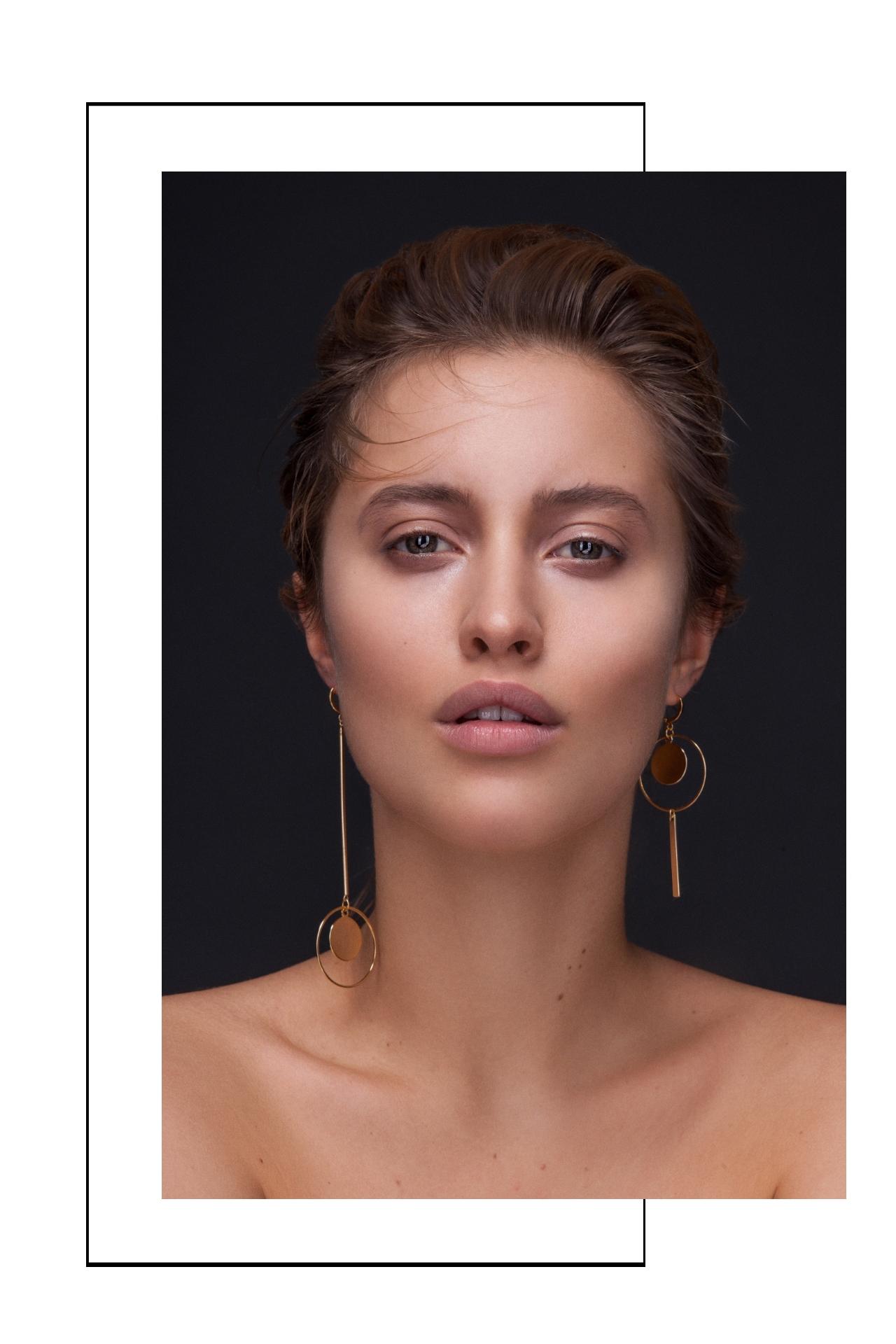 Designer Ohrringe Gold Madeleine Issing