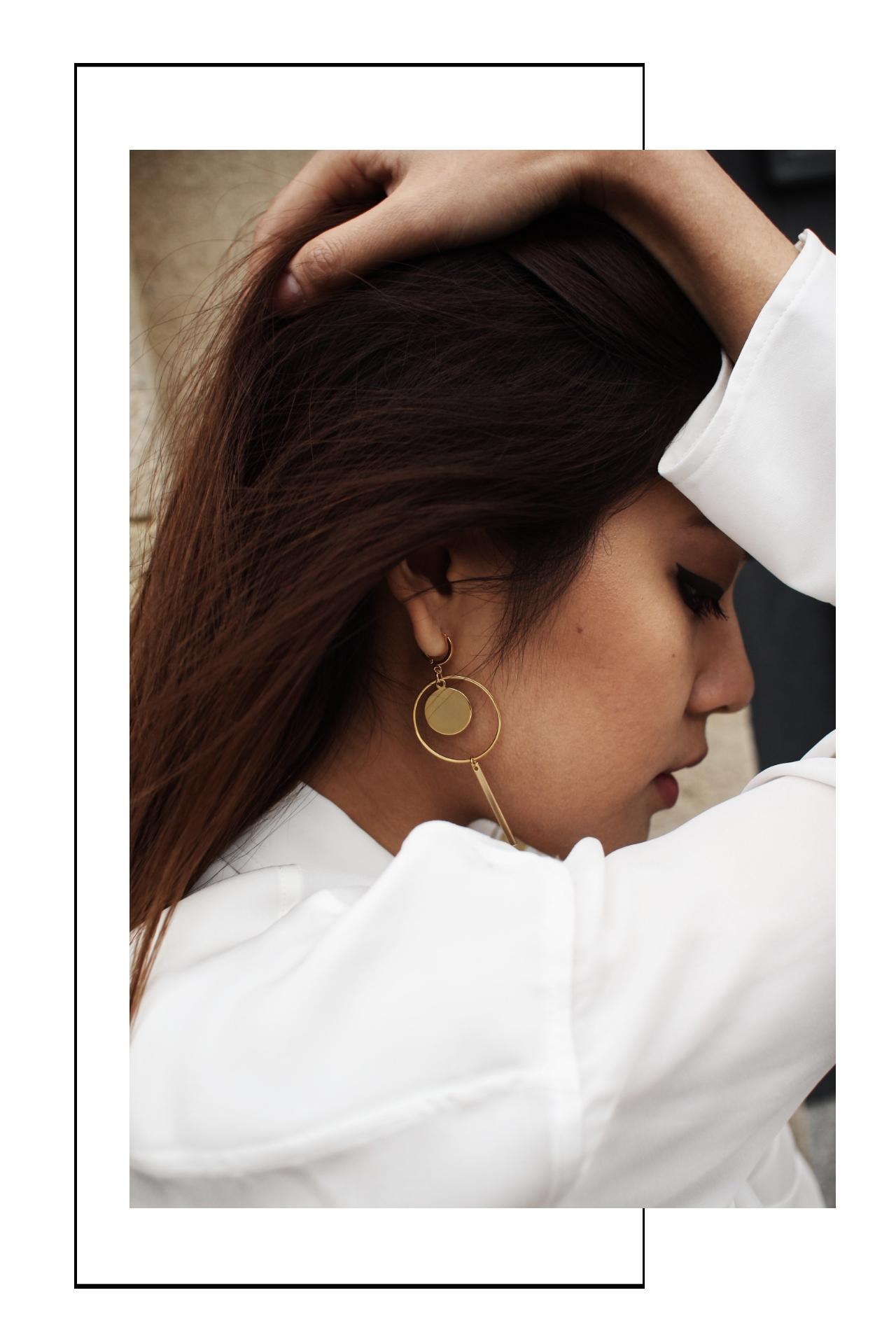 Modeschmuck Ohrringe Gold Madeleine Issing