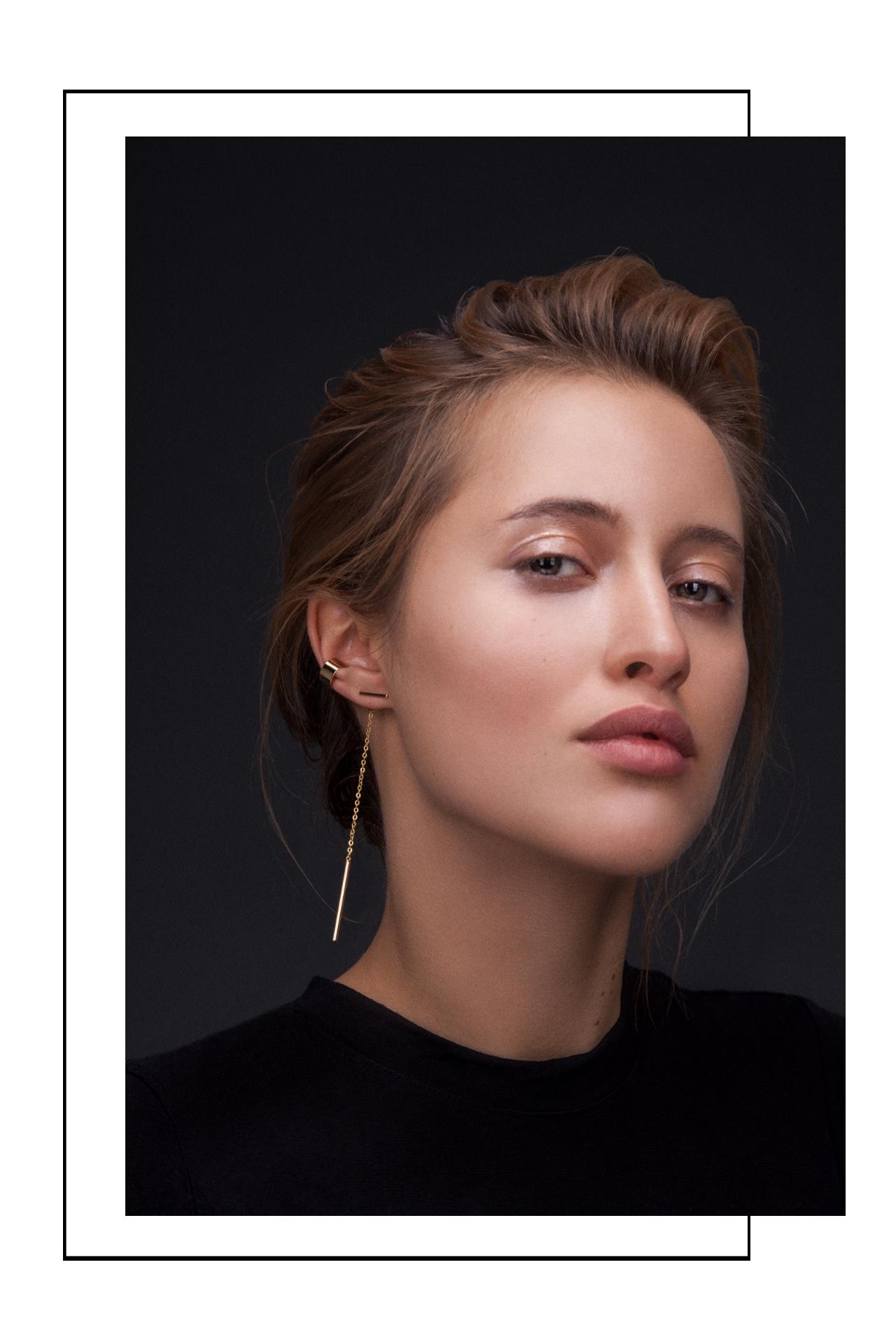 Vorne und hinten Ohrringe tragen Madeleine Issing