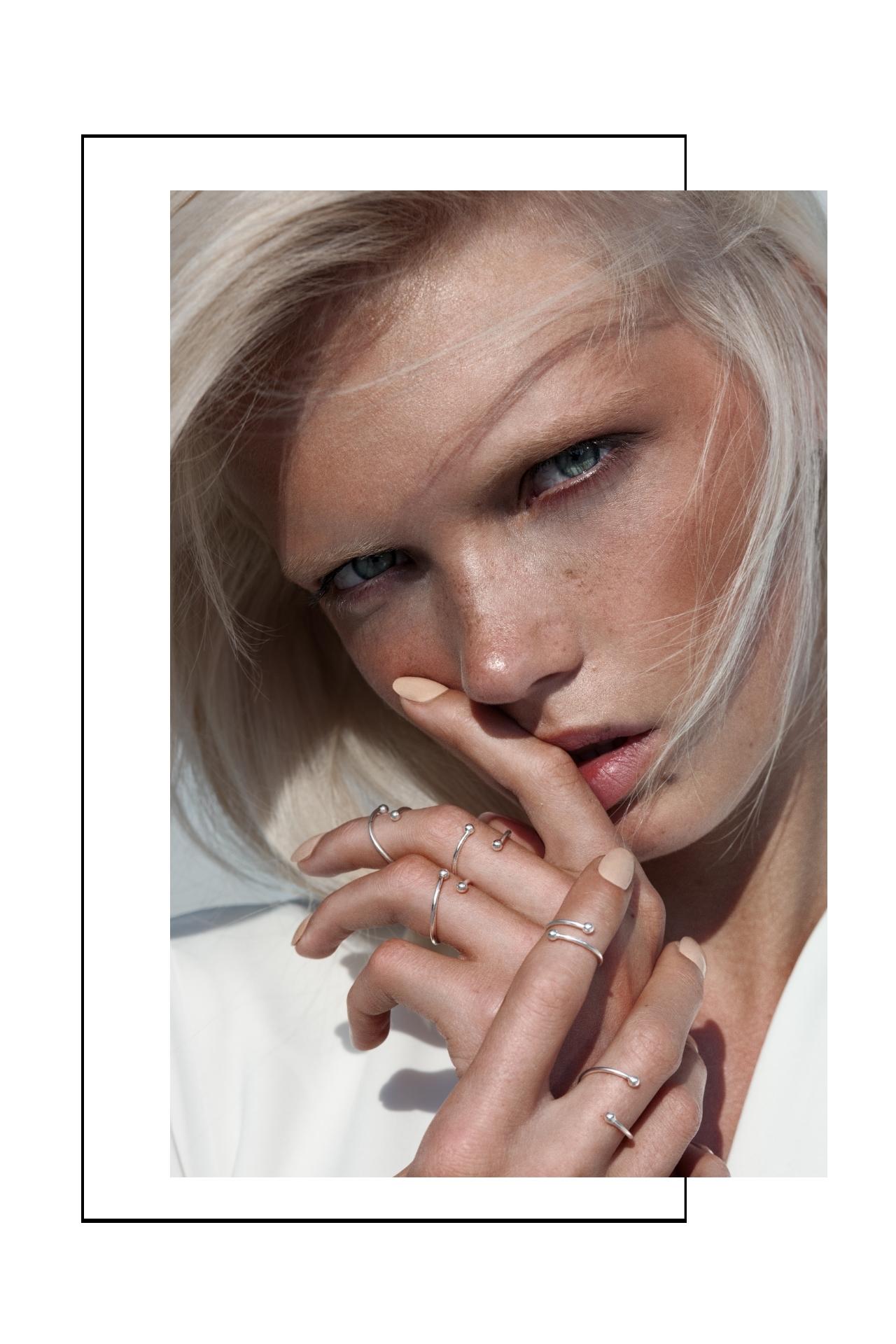 Designer Ringe in Silber Madeleine Issing