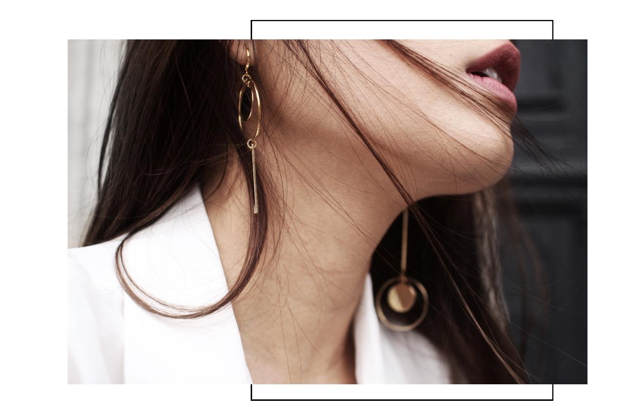 besondere Ohrringe Gold Madeleine Issing