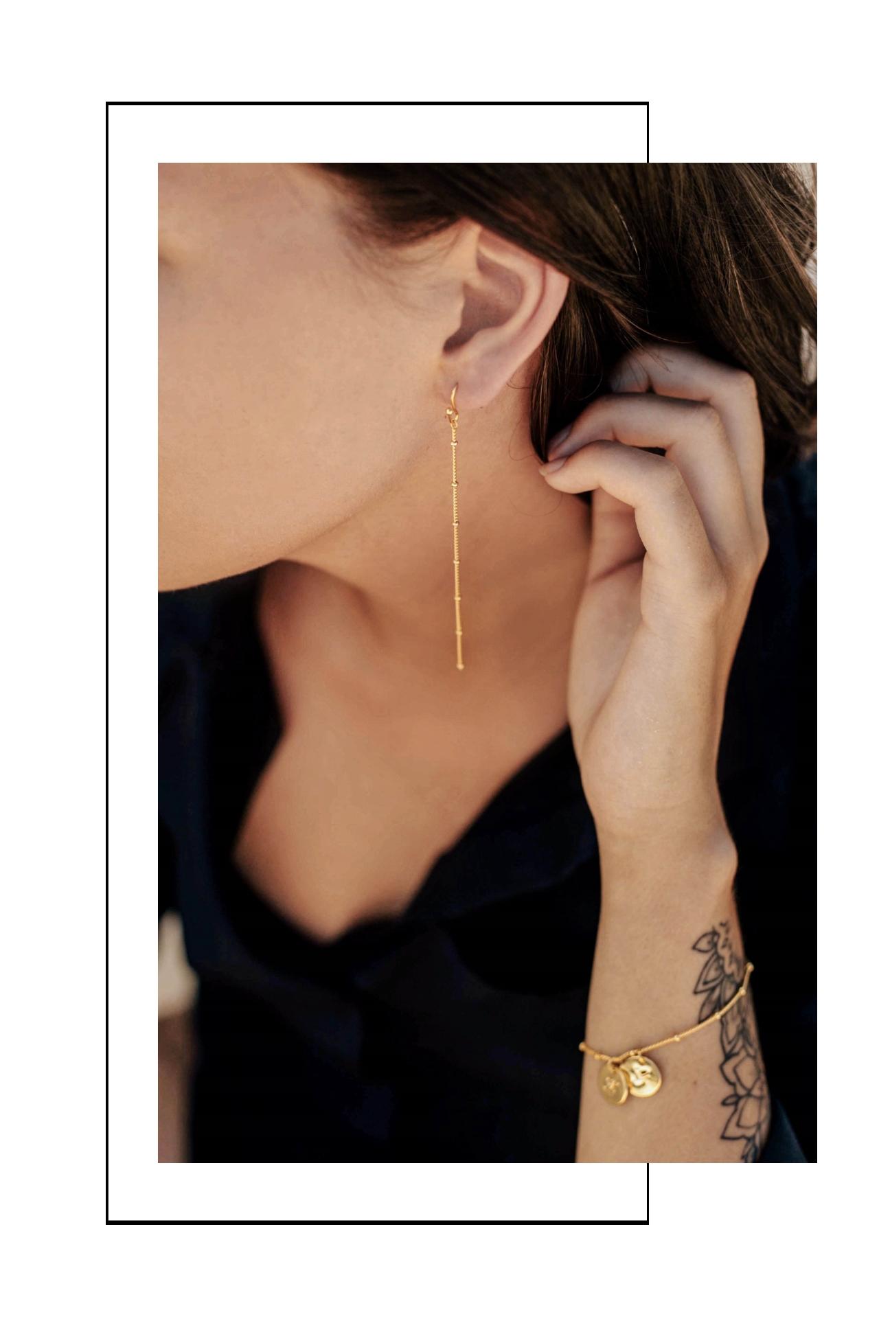 schlichte Ohrringe minimalistisches Design Madeleine Issing