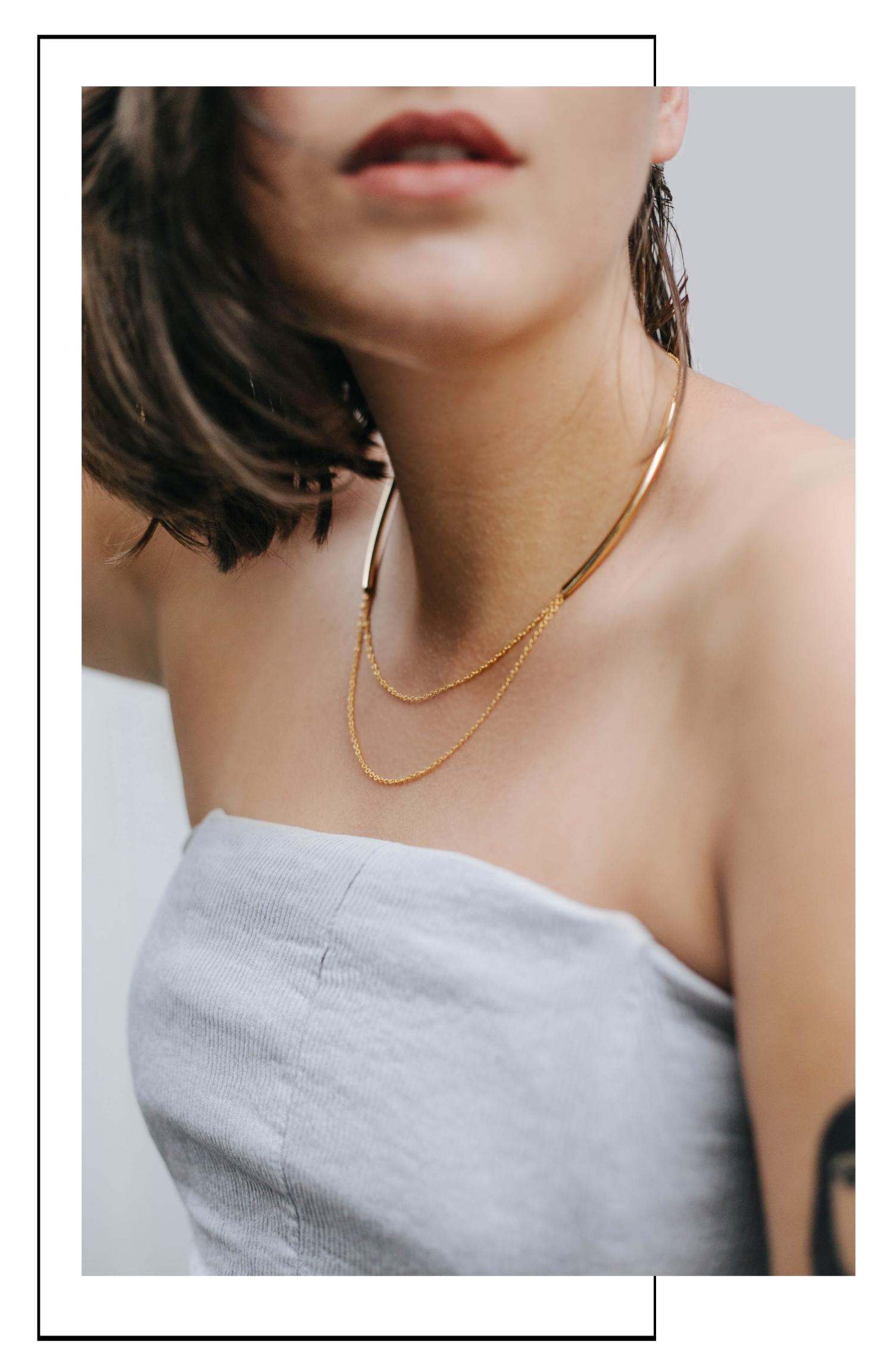 schöne Halsketten für Frauen Gold Madeleine Issing