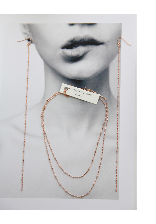 Moderne Ohrringe in Rosegold Madeleine Issing