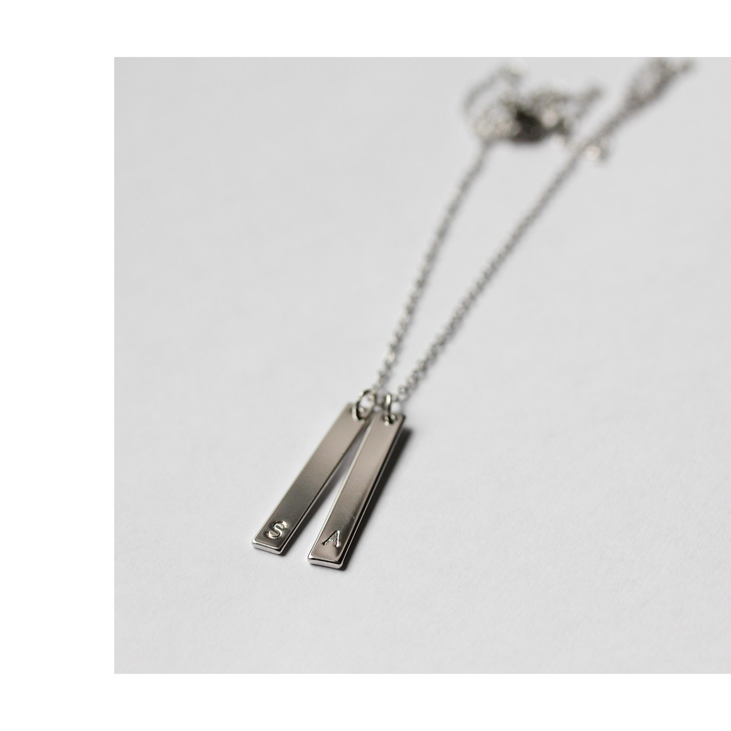 lange Silber Ketten mit Gravur Madeleine Issing